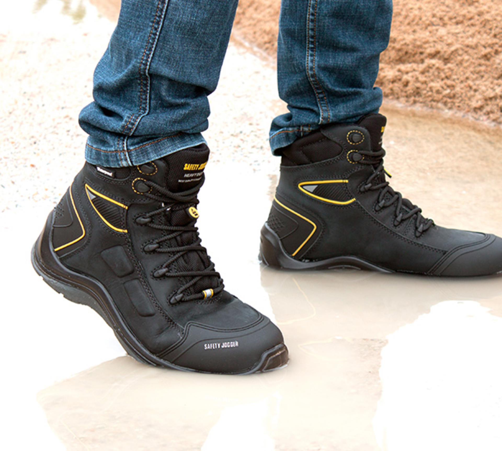 Waterproof | Safety Jogger