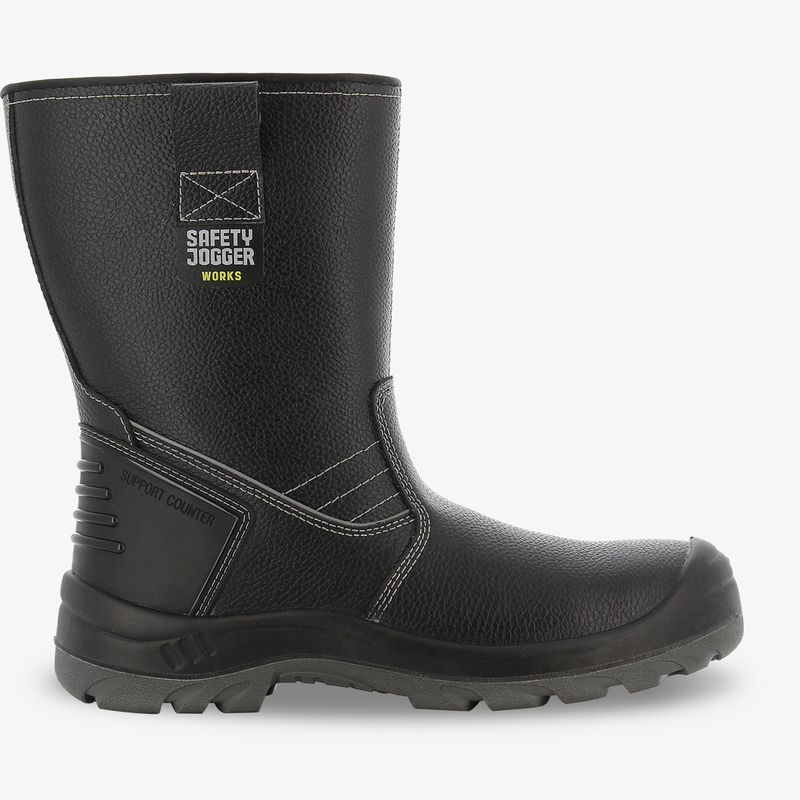 Bestboot2Leather safety bootSafety Jogger