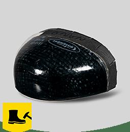 Nano carbon toecap