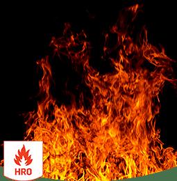 Heat resistant outsole (HRO)